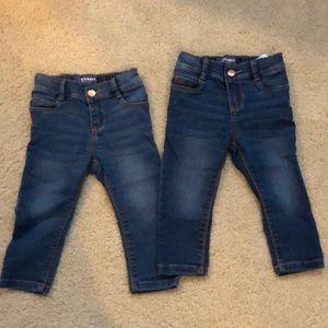 Old Navy Ballerina Skinny Jeans